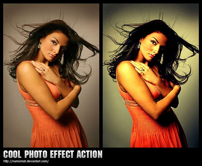 Action photoshop screen 12