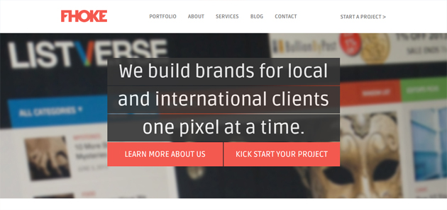 Isnpiration Flat WebDesign