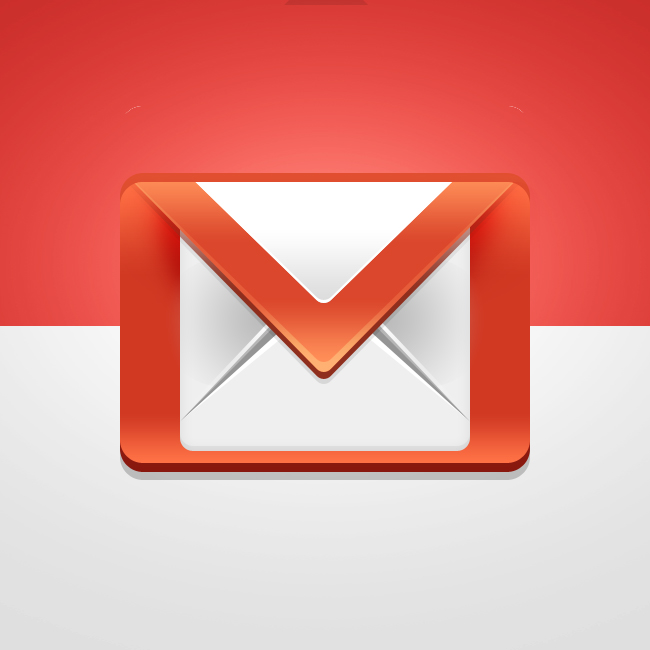 Tuto Photoshop Créer une icone google gmail Preview